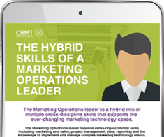 Hybrid skills of a marketing operations leader