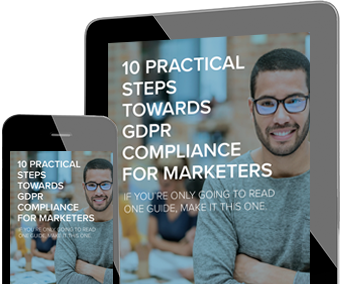10 steps to GDPR for marketers